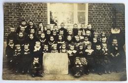 Huldenberg School Van Keyhof 1912 1913  Zeldzame Fotokaart Neerijsse Ottenburg - Huldenberg