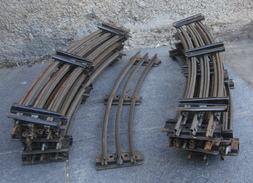 Trains Hornby Rails Courbes échelle O - Track