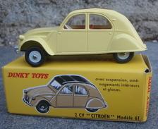 2 CV Dinky Toys , Atlas - Dinky