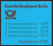Berlin Junii 1989 / MiNr.  MH 15   OZ  Mit  H-Blatt 23    ** / MNH   (mh1051) - Berlin (West)
