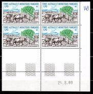 TAAF - YT N° 149 Bloc De 4 Coin Daté - Neuf ** - MNH - Cote: 4,00 € - Terres Australes Et Antarctiques Françaises (TAAF)