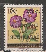 CONGO SUD-KASAI 3 MH Neuf * - Sud-Kasaï