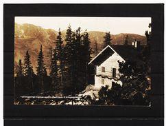 ZAK854 POSTKARTE JAHR 1929 TENNENGEBIRGE EISRIESENWELT RASTHÜTTE GEBRAUCHT SIEHE ABBILDUNG - Österreich