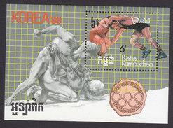 Cambodia, Scott #767, Mint Hinged, :Summer Olympics, Issued 1987 - Cambodge