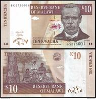 Malawi 10 KWACHA 2004 P 51a UNC - Malawi
