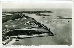 LIBERIA  MONROVIA  Freeport And Iron Ore For Export - Liberia