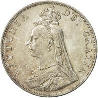 Grande-Bretagne, Victoria, Double Florin, 1887, SUP+, Argent, KM:763 - 1816-1901 : Frappes XIX° S.