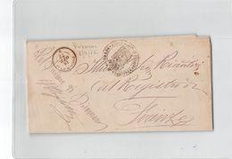 926 MUNICIPIO DI  DICOMANO X FIRENZE - 1872 - Storia Postale