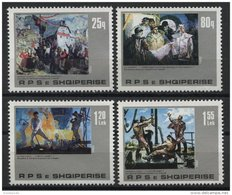 ALBANIA, PAINTINGS «INDUSTRIE AND CRAFT» 1982, NH SET - Albania
