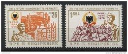 ALBANIA, 35TH YEARS ANNIVERSARY OF THE PERMET CONGRESS 1979, NH SET - Albania