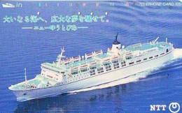 Télécarte JAPON * BATEAU * PHONECARD JAPAN * SHIP (1524) TK *    *  SCHIFF * Schip - Boot - Barco - Schiffe