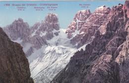 Gruppo Del Cristallo - Cristallogruppe (554) * 1924 - Belluno