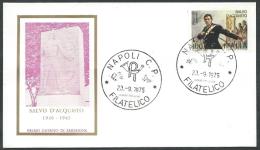 1975 ITALIA FDC RE.RU. SALVO D'ACQUISTO NO TIMBRO ARRIVO - KI14-2 - FDC