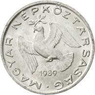 Hongrie, 10 Filler, 1989, Budapest, SUP, Aluminium, KM:572 - Hongrie