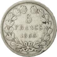 ♕  Belle Pièce 5 Francs LOUIS PHILIPPE 1833 Q  ♕ - France