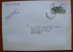 Letter - Cover - Sobre De India - India