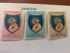 Vatican City Mater Misericordia Mnh 1954 - Unused Stamps