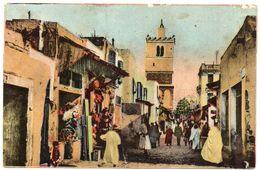 Tunisie--TUNIS--Rue Des Teinturiers ( Animée)  N° 75  éd  CAP--carte Colorisée - Tunesië