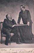 Emile Zola Et Desmoulin (5.2.02) Pli D'angle - Ecrivains