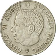 Suède, Gustaf VI, Krona, 1966, TTB+, Argent, KM:826 - Suède