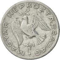 Hongrie, 10 Filler, 1961, Budapest, SUP, Aluminium, KM:547 - Hungary