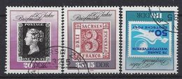 Germany (DDR) 1990 150 Jahre Briefmarken (o) Mi.3329-3331 - [6] Democratic Republic