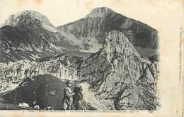 """.CPA FRANCE 74 """"Mont Saxonnex, La Pointe Blanche Et Le Mont Jalouvre"""" - Other Municipalities"""