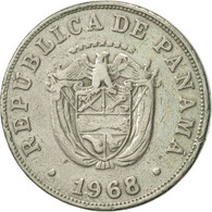 Panama, 5 Centesimos, 1968, TTB, Copper-nickel, KM:23.2 - Panama