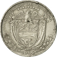 Panama, 1/10 Balboa, 1966, TTB, Copper-Nickel Clad Copper, KM:10 - Panama