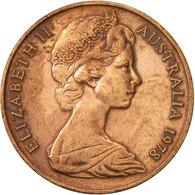 Australie, Elizabeth II, 2 Cents, 1978, TTB, Bronze, KM:63 - Monnaie Décimale (1966-...)