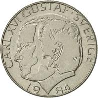 Suède, Carl XVI Gustaf, Krona, 1984, TTB+, Copper-nickel, KM:852a - Suède