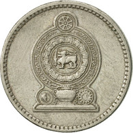 Sri Lanka, 50 Cents, 1982, TTB+, Copper-nickel, KM:135.2 - Sri Lanka