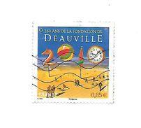150 Ans De La Fondation De Deauville 4452 Oblitéré 2010 - France