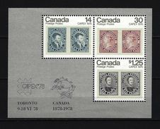 KANADA - Mi-Nr. Block 1 Internationale Briefmarkenausstellung CAPEX '78, Toronto Postfrisch - Blocks & Kleinbögen
