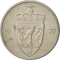 Norvège, Olav V, 50 Öre, 1979, TTB+, Copper-nickel, KM:418 - Norvège