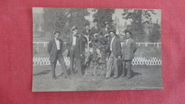 RPPC   To ID Location  Group Of Well Dressed Men 4   Ref 2648 - Postcards