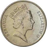 Bermuda, Elizabeth II, 5 Cents, 1997, SUP, Copper-nickel, KM:45 - Bermuda