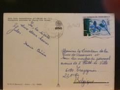 70/423    CP ITALIE POUR LA BELG. - 6. 1946-.. Repubblica