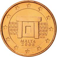 Malte, Euro Cent, 2008, FDC, Copper Plated Steel, KM:125 - Malta