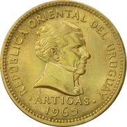 Uruguay, Peso, 1965, Santiago, SUP, Aluminum-Bronze, KM:46 - Uruguay