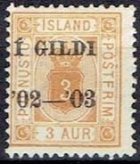 ICELAND # FROM 1902-1903  *  TK: 12 1/4 - Officials