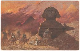 Egypt - Le Sphinx Au Simoun - Sphinx