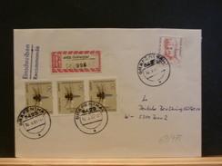69/775  LETTRE ALLEMAGNE - Insecten