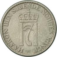 Norvège, Haakon VII, Krone, 1955, TTB, Copper-nickel, KM:397.2 - Norvège