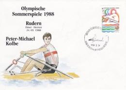 Korea   Seoul 1988 Olympic Summer Games - Rowing   (DD3-23) - Verano 1988: Seúl