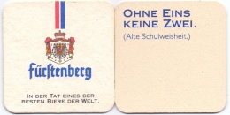 #D151-242 Viltje Fürstenberg Bräu (rood Blauw) - Sous-bocks