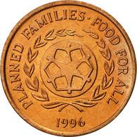 Tonga, King Taufa'ahau Tupou IV, 2 Seniti, 1996, SUP, Bronze, KM:67 - Tonga