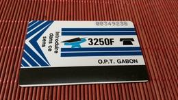 Phonecard Gabon Used  Rare - Gabun