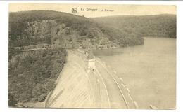 La Gileppe Le Barrage Dos Vacances 1928 Festivités Du Cinquantenaire - Gileppe (Stuwdam)
