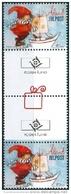 Aland 2012 Gutterpair Kerstzegel PF-MNH - Aland